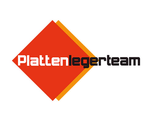 Plattenlegerteam